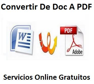 Convertir pdf imagen a word texto online