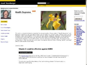 Sepp Web site