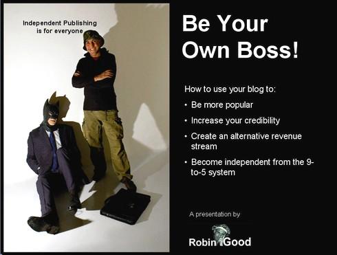Robin Good's presentation